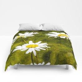 Daisy Art Comforters