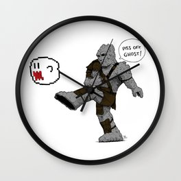 Piss off, Ghost! Wall Clock