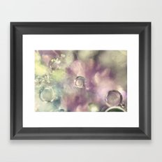 Ice Crystals Framed Art Print