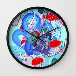 Alien Organism 30 Wall Clock