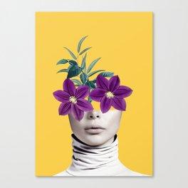 Floral Portrait 2 Canvas Print
