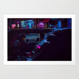 Tokyo Nights / Roppongi Nights / Liam Wong Art Print