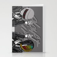 daft punk Stationery Cards featuring Daft Punk by EllenHafer