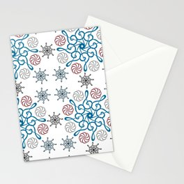 Musical repeating pattern No.2, Collection No.1 Stationery Cards