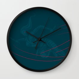 Kunoichi Wall Clock