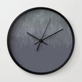 Glitter to Graige Ombre Wall Clock