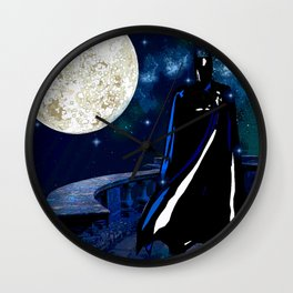 DON'T FEAR THE NIGHT FEAR THE KNIGHT Wall Clock