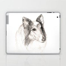 Remembering Maggie :: A Tribute to a Collie Laptop & iPad Skin