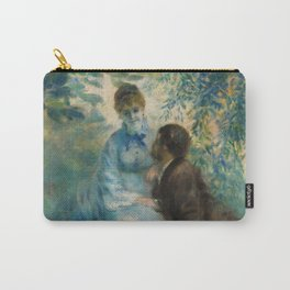 "Auguste Renoir ""Lovers"" Carry-All Pouch"