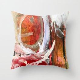 Tunes Playin' detail Throw Pillow