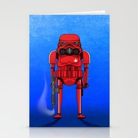 marijuana Stationery Cards featuring Marijuana trooper by kakin