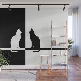 Black and White 81 Wall Mural