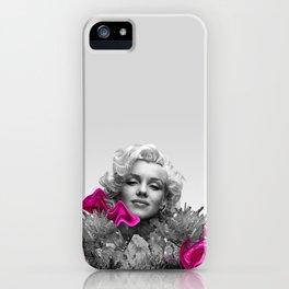Quartz Armor & Roses in Her Hair iPhone Case