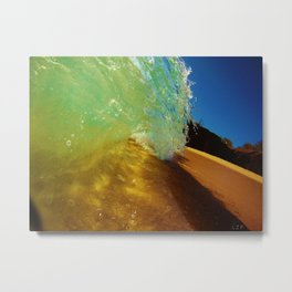 Big Beach Energy Metal Print
