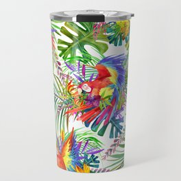 cute wild parrot Travel Mug
