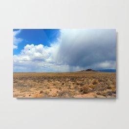 Volcanoes and Weather Metal Print