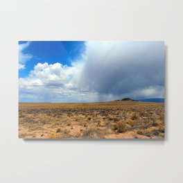 Volcanoes and Weather Metal Print