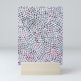 Indigo Scales Mini Art Print