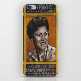 Patsy Cline iPhone Skin