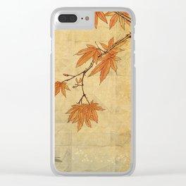 Asiafoldantique Clear iPhone Case