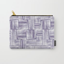 Stamped Lines One Carry-All Pouch