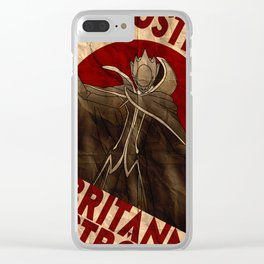 Code Geass   Zero   Justice will prevail Clear iPhone Case