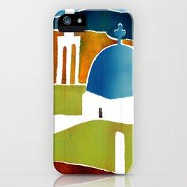 Greek Islands 4 iPhone Case