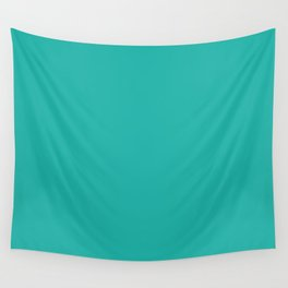 Light sea green Wall Tapestry