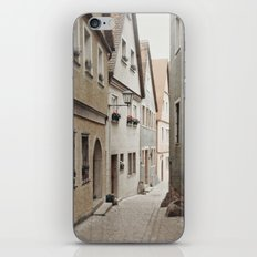 Italian Alley - Muted Tones iPhone & iPod Skin