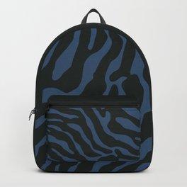 Tiger Skin Pattern Venice Blue Backpack