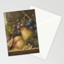 still life meals fruits Stationery Cards