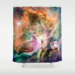 Different Slant on Orion Shower Curtain