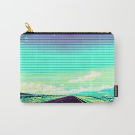 Road Trip Straight Ahead Carry-All Pouch