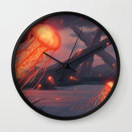 Sky Angels Wall Clock