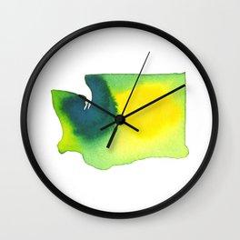 Washington Green Wall Clock