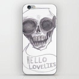 """""""Hello Lovelies"""" iPhone Skin"""