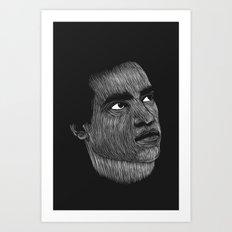 Huey P Newton Art Print