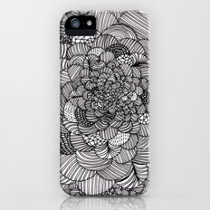 Ink flowers iPhone (5, 5s) Slim Case