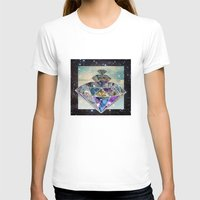 diamonds T-shirts featuring Diamonds by Sil-la Lopez
