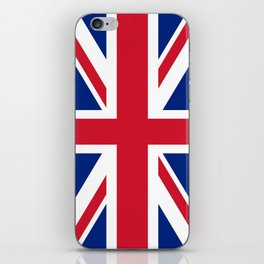 UK FLAG - The Union Jack Authentic color and 3:5 scale  iPhone Skin