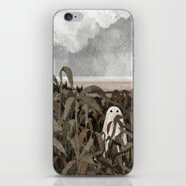 There's A Ghost in the Cornfield Again iPhone Skin