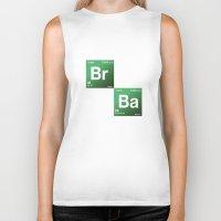 chemistry Biker Tanks featuring BrBa chemistry by Nxolab