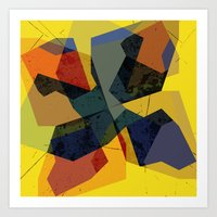abstract  / 046 Art Print