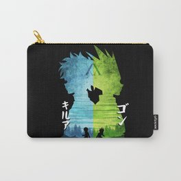Minimalist Silhouette Gon & Killua Carry-All Pouch