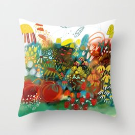 THE TOMATOES ARE PERFECT Throw Pillow