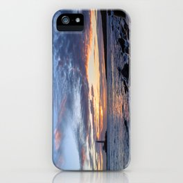 Sunrise at St Mary's Lighthouse iPhone Case