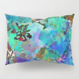 Hawaiian Jungle Batik Pillow Sham