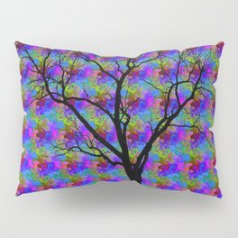 Psychedelic Mystery Tree Pillow Sham