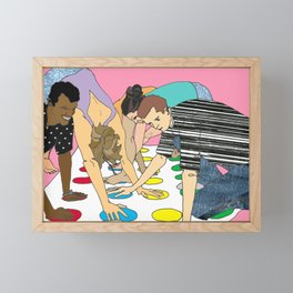 Twisted Framed Mini Art Print