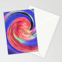 Flower Swirl Stationery Cards